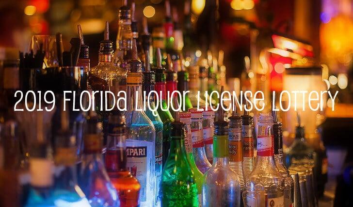 2019 Florida Liquor License Lottery